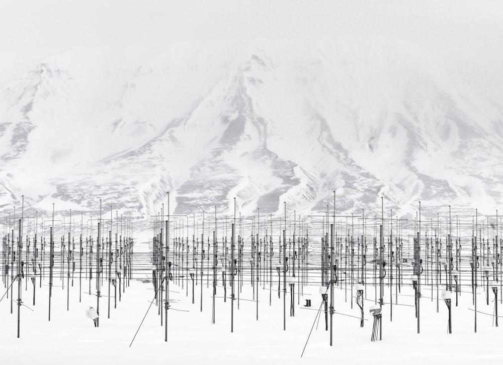 Sousy, Svalbard Rader,  Adventdalen , 斯匹次卑爾根島,挪威 , 2010   100 x 130   厘米/ 153 x 200   厘米/ 180 x 235   厘米