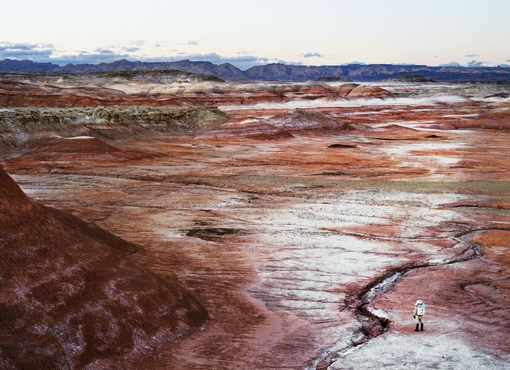 Mars Desert Research Station #2  火星協會,聖拉斐爾膨脹,猶他州,美國, 2008  100x 300 厘米/ 153 x 200 厘米/ 180 x 235 厘米