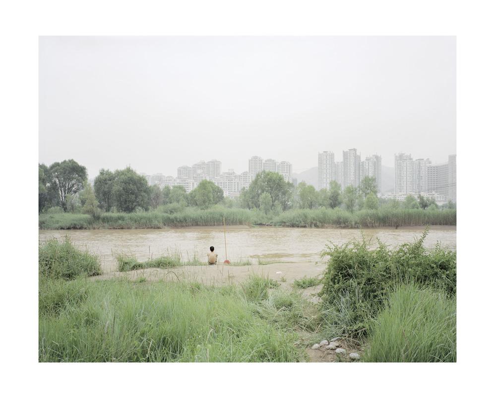 武術練習者, 甘肅, 2010       100 x 120 厘米/ 112x 138 厘米/ 140 x 168 厘米