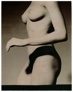 女體與手影  紙張尺寸:48 x 61 厘米/ 68 x 90 厘米