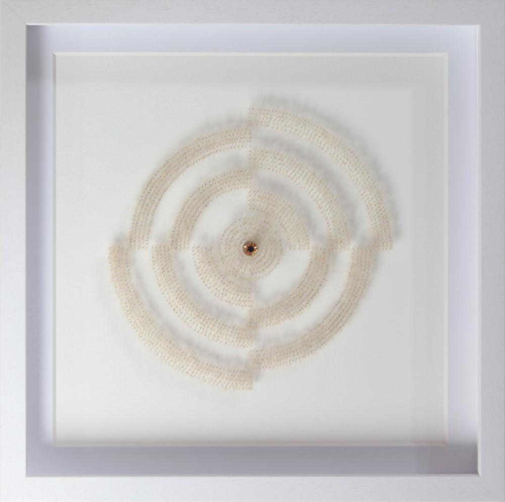 單色的蒲公英 #4 50 x 50x 6 厘米