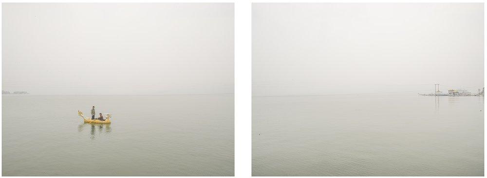 三峽里的小龍舟, 2015 每張尺寸:120 x 84厘米/ 120 x 96厘米 ( 一套兩張 )