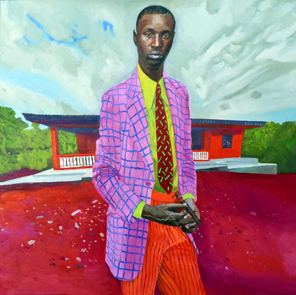 """Dandy 1"" - Oil on Canvas - 80 x 80cm"