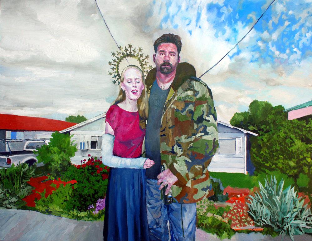 """The Carpenter"" - Oil on Canvas - 89 x 116cm"