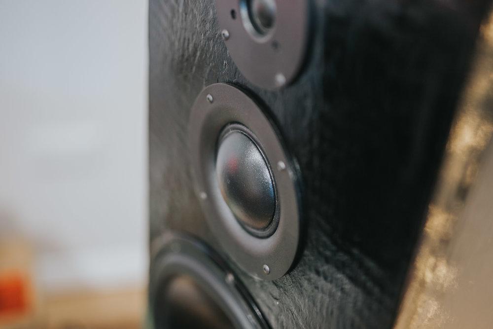 Custom Built Speakers | The Barn Studio | Photo by Ian Wallman