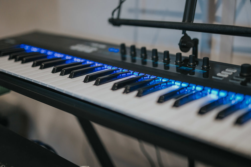 Komplete Kontrol S61 | The Barn Studio | Photo by Ian Wallman