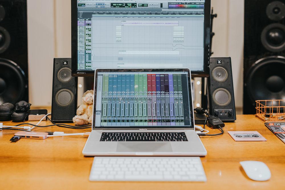 AUDIO EDITING -