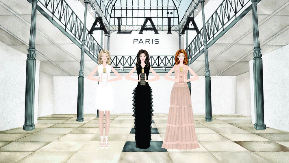 Alaïa Nude→ The third fragrance by Alaïa