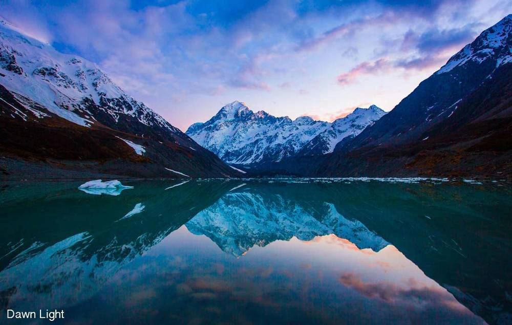 Hooker Valley, Mout Cook