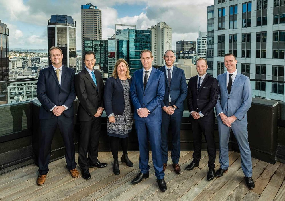 Oyster Property Group management team
