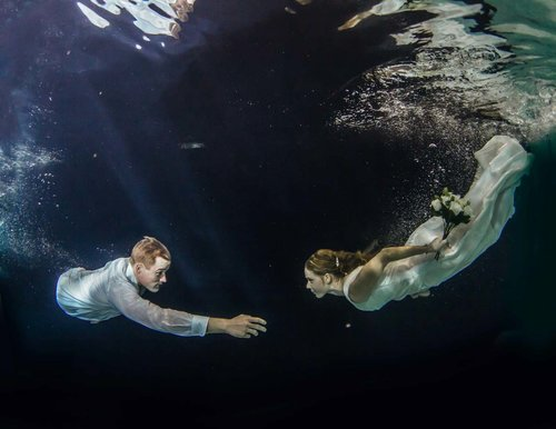 Underwater Photoshoot -