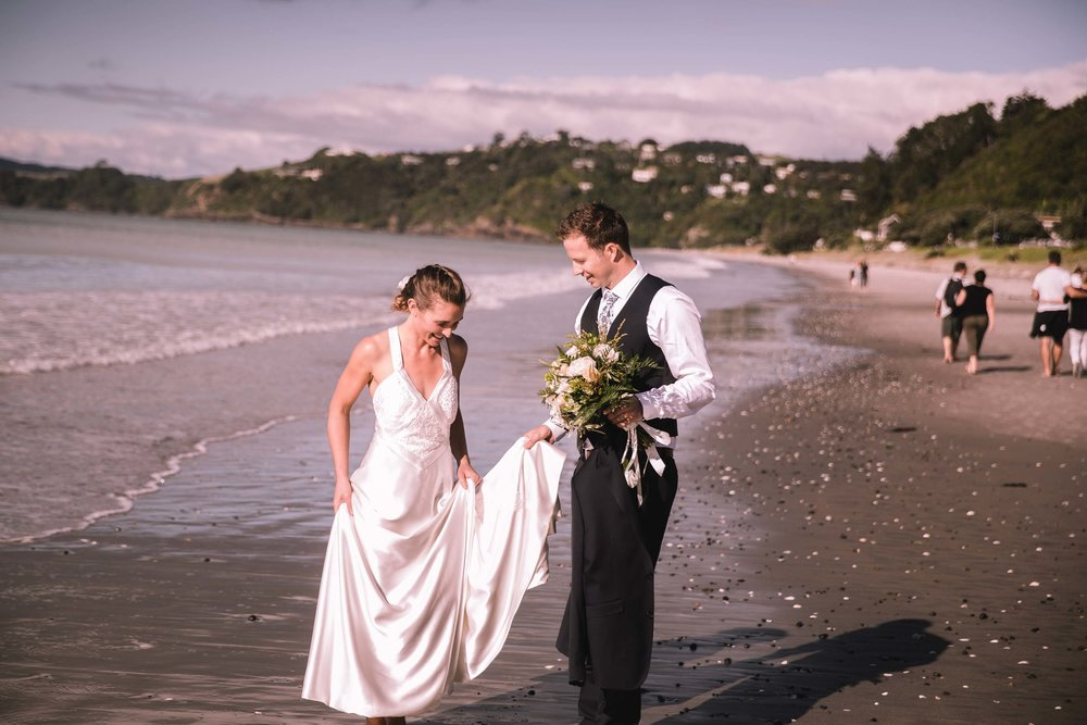Julia & Ben - Castia Miro, Onetangi, Waiheke Island