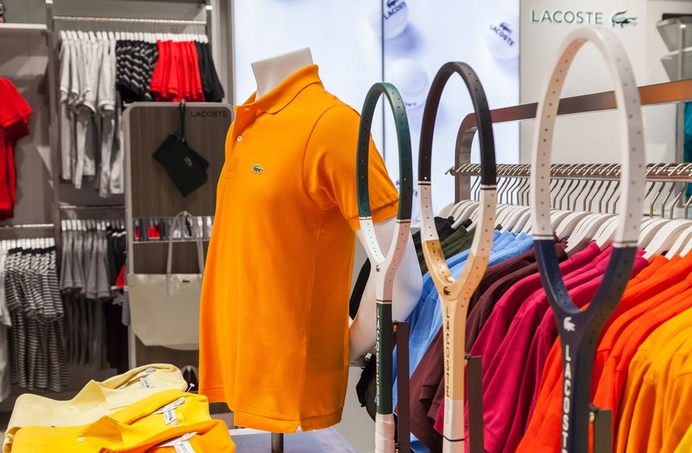 LACOSTE - Store Photography