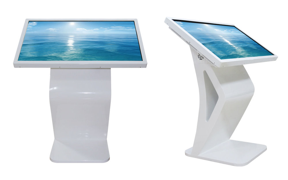 Touch screen lectern displays