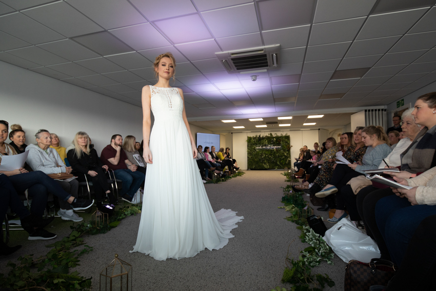 Catwalk show at the Lakes Wedding Show 2019