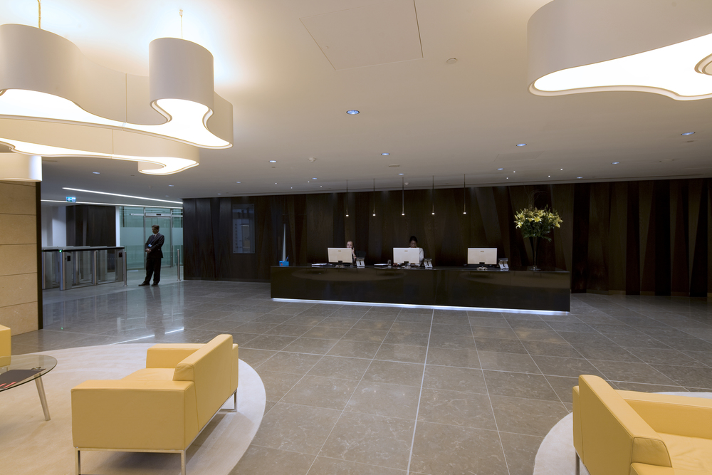 Bank Lobby London