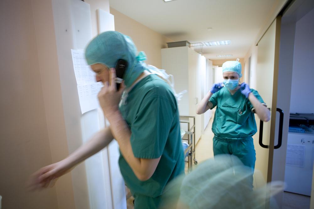 Emergency, Herzzentrum Bernau
