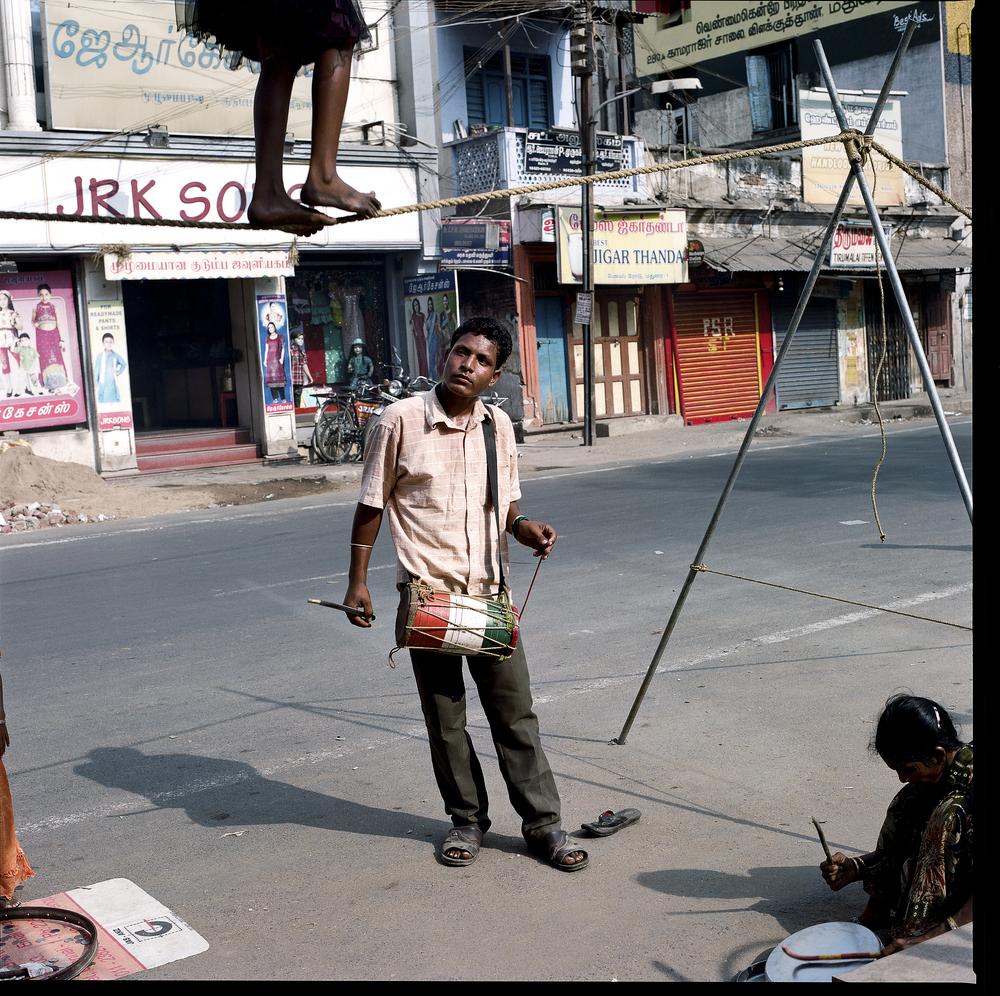 Tamil Nadu, street artists