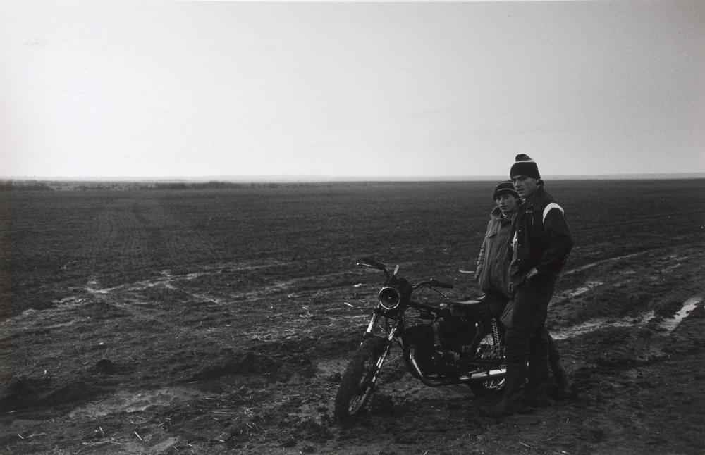 Banat, near Timisoara, 1990