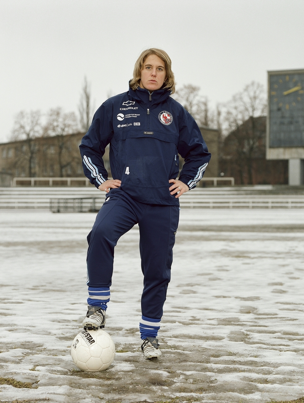 Britta Carlson, player in the German national team, Potsdam