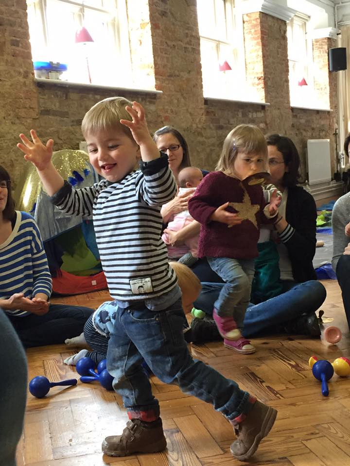 Physical activities at our Sussex messy play sessions