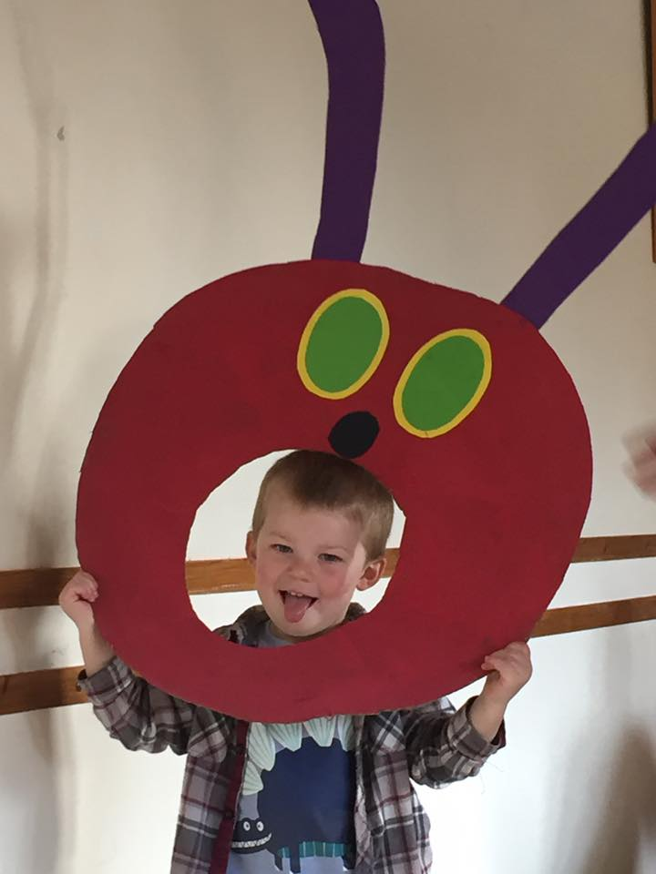Hungry Caterpillar craft activity