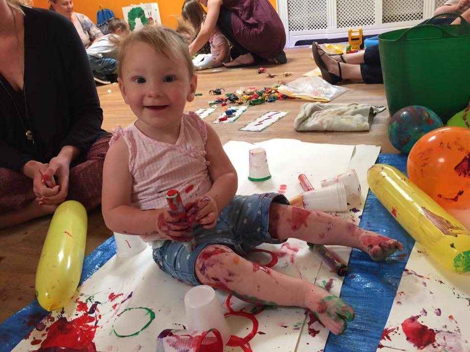 The more messy play the better!