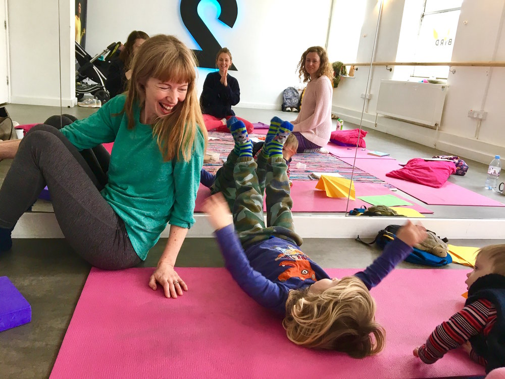 messy yoga in Haywards Heath