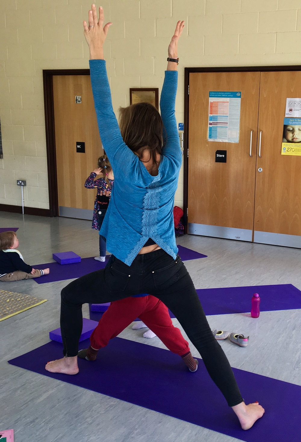 parent and child yoga in Haywards Heath
