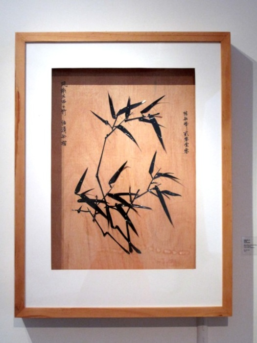 SinArts Gallery_Chen_Hangfeng_Winds Blow from the West-Bamboo_ plastic bags on wood.jpg