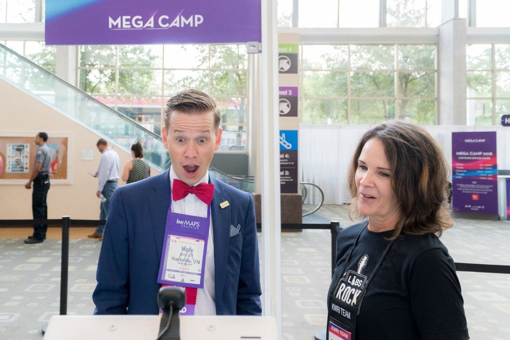At Mega CAMP 2018 in Austin, Texas (August 2018) 6000 attendees provided a picture to opt-in for face recognition (65%).