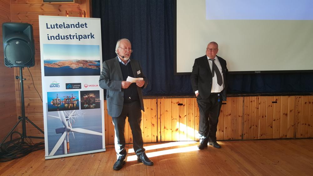 Jan Balstad (t.v.) og Stein Arne Ottesen.