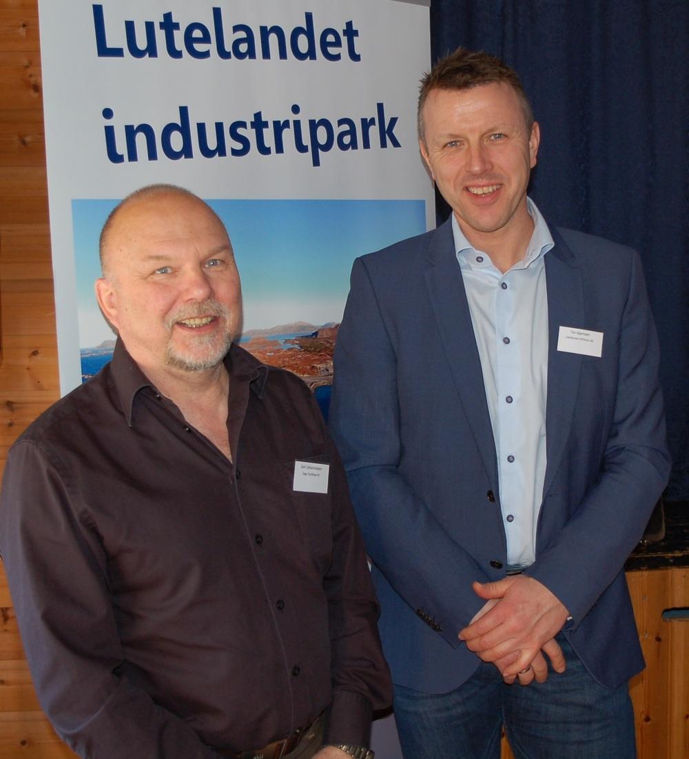Geir Johannessen (t.v) og Tor Gjertsen.