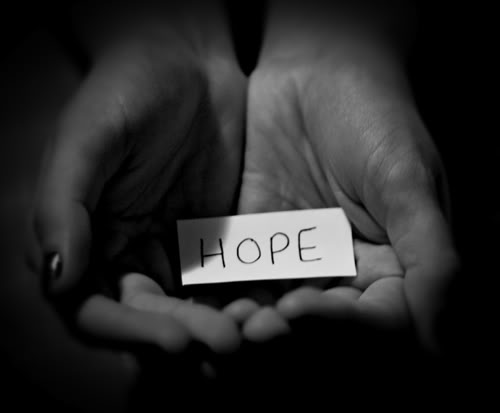 hope in hands