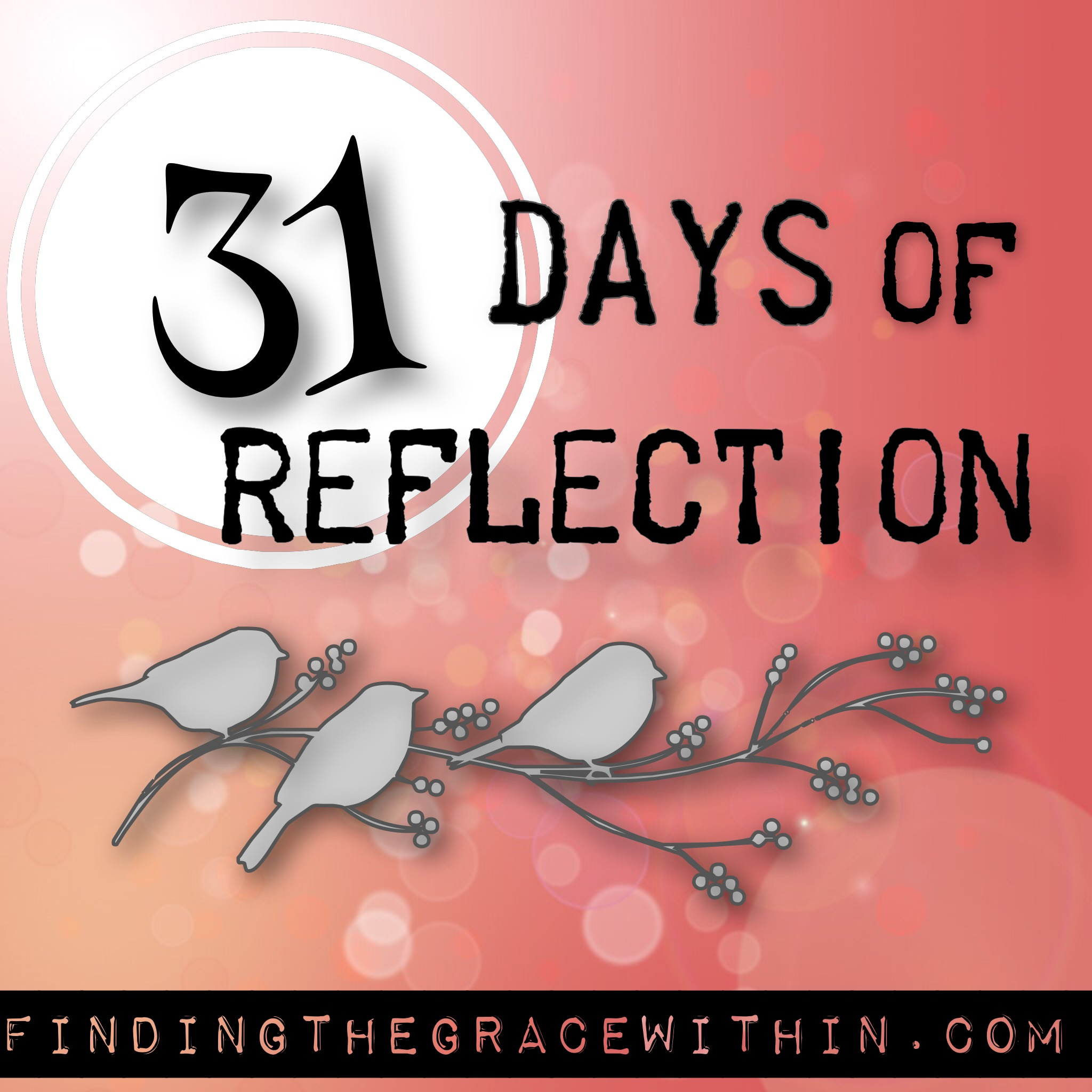 { my 31 day writing challenge }