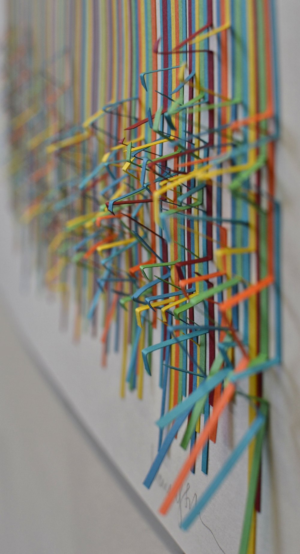 "Close up of ""Disarray IV"""