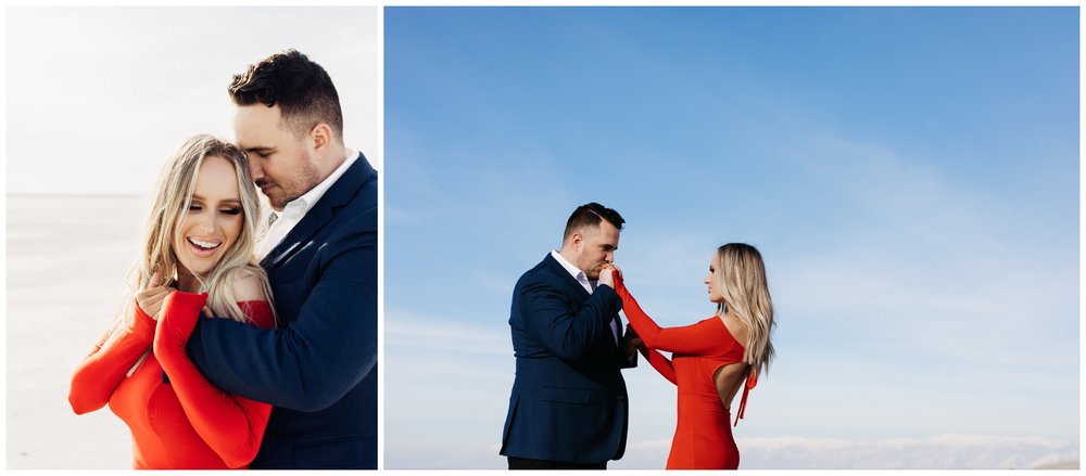 Saltair Utah Engagement Photographer