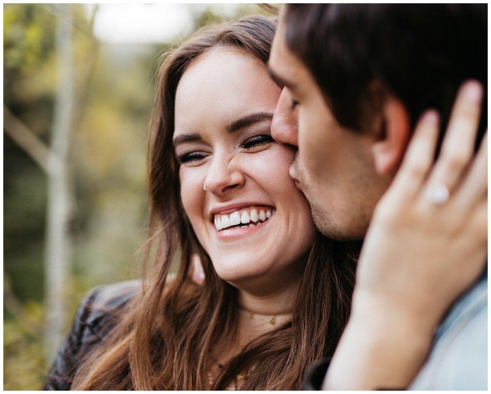 Tibble Fork Engagement Portraits Wedding Photographer in Utah