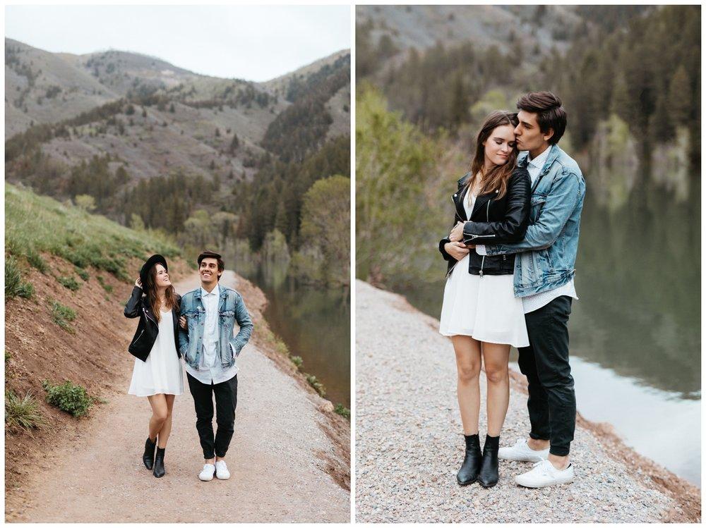 SLC Wedding Photographer Utah Engagement