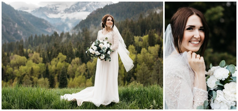 bridal portrait photographer in slc utah