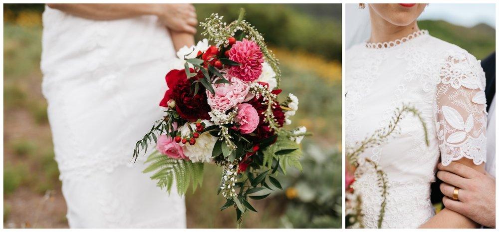 utah spring wedding photos