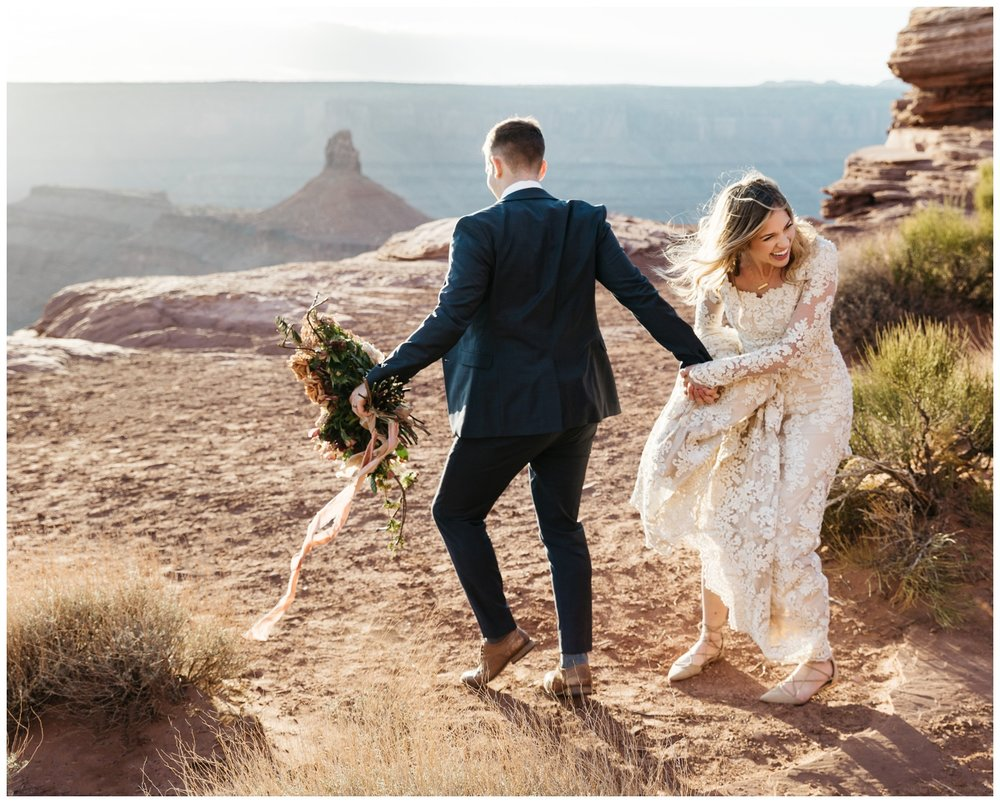 Utah Desert Wedding Elopement