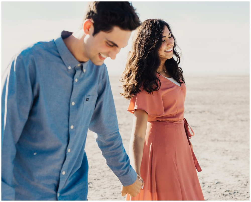 best engagement portrait locations saltair utah