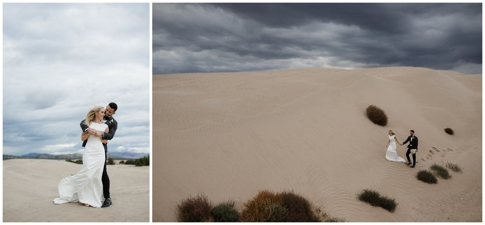 sand dunes desert wedding photographer utah