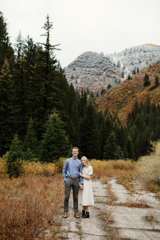 cottonwood canyon engagement photos