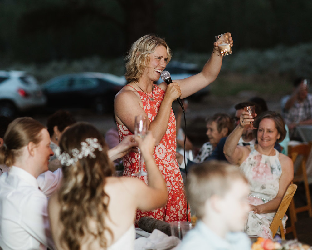 national forest utah camping wedding ideas