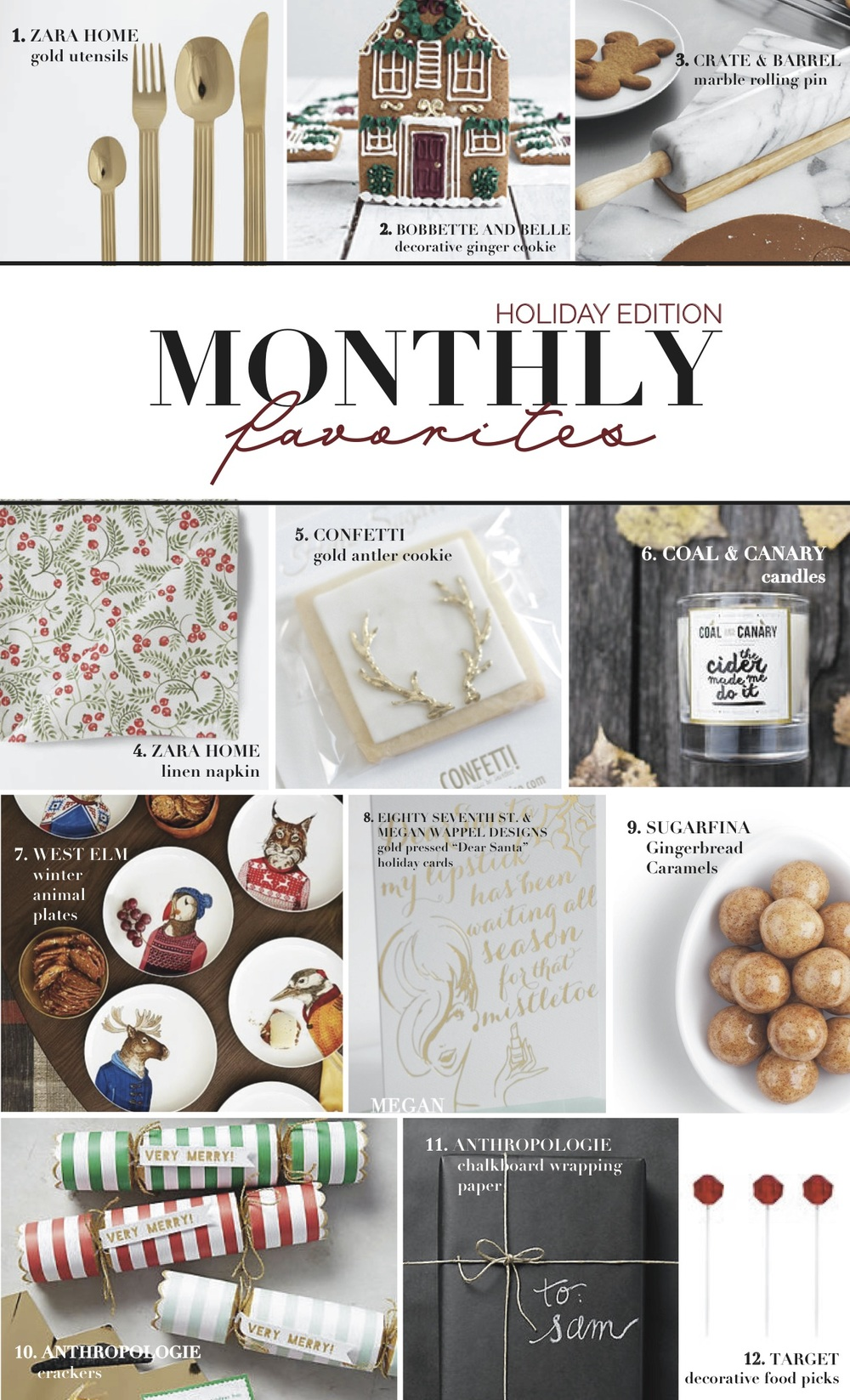 Monthly Favorites : December 2015