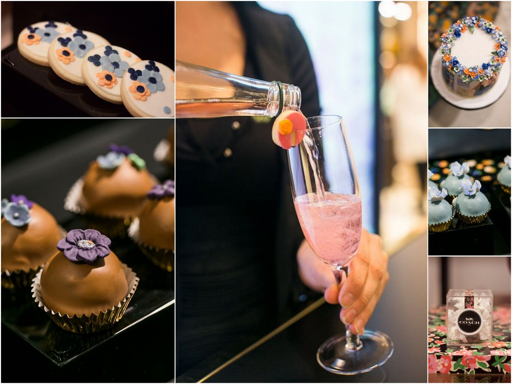 It's all in the details.  With tasty sips and sweet treats, guests enjoyed a fun shopping experience. Bartending services by Fresh Pours.