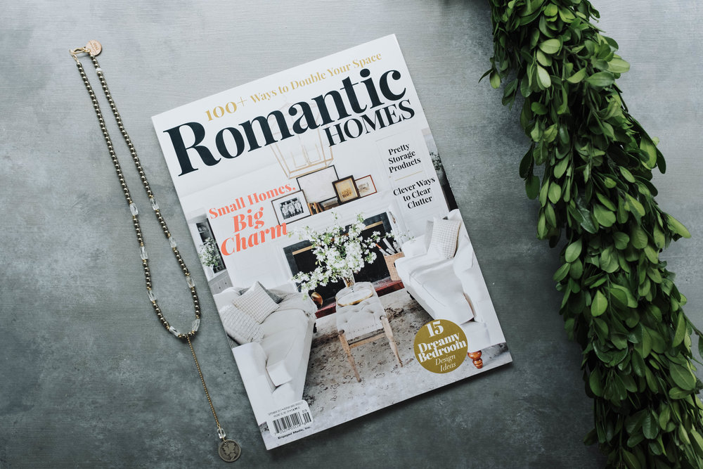 Romantic Homes Magazine Jewelry Bus Feature