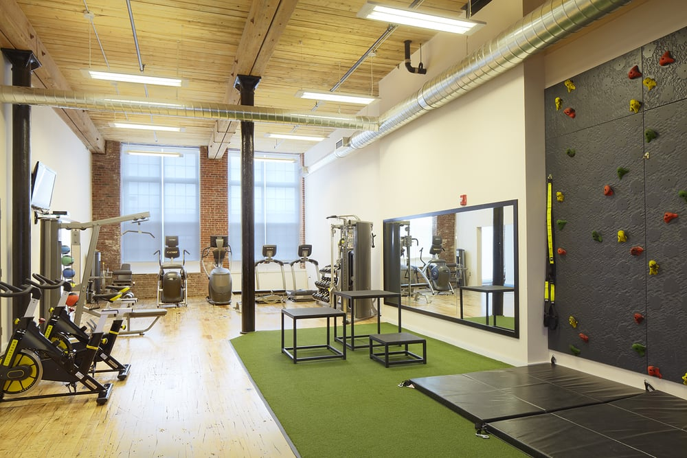 Amenities Fitness Center Rock Climbing Yoga Studio Lawrence Apartments to Rent